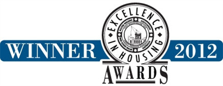 Winner - Excellence in Housing Awards 2012