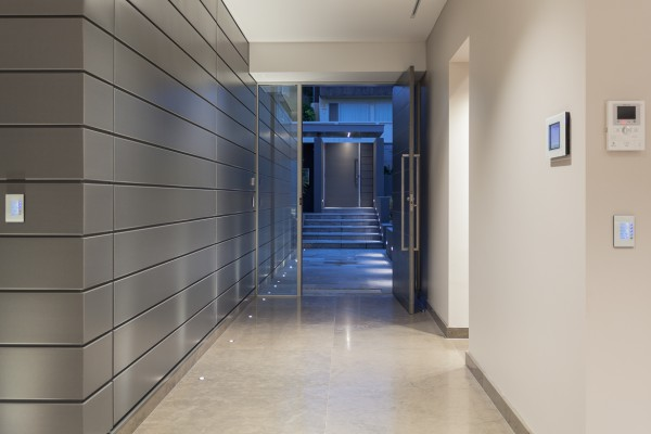 CPT Interiors & Construction - Rose Bay renovation - Entrance