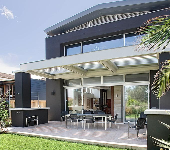 Custom built home by CPT Interiors and Construction