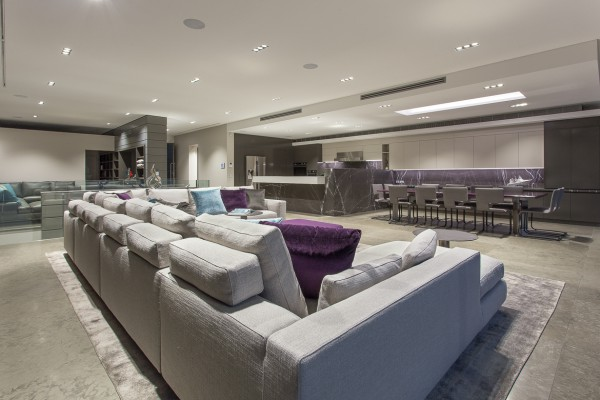 CPT Interiors & Construction - Rose Bay renovation - Lounge area