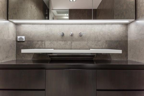 CPT Interiors & Construction - Rose Bay renovation - bathroom sink