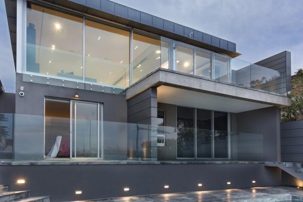 CPT Interiors & Construction - Rose Bay renovation - glass windows maximising harbour views